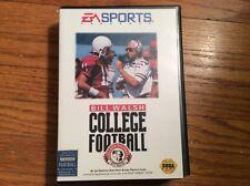 Bill Walsh College Football (Sega Genesis, 1993) complete