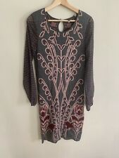 Anthropologie Knitted & Knotted Women's Saone Sweater Chiffon Dress Size S