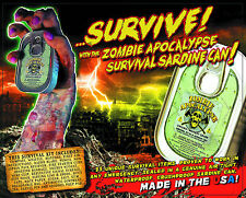 Zombie Apocalypse Survival Kit - Sardine Tin