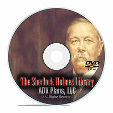 311 Sherlock Holmes Audiobooks, OTR Mystery Old Time Radio Broadcasts DVD E84
