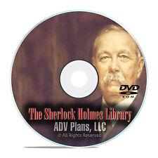 311 Sherlock Holmes Audiobooks, OTR Mystery Old Time Radio Broadcasts DVD E84