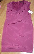 BNWT Esprit party Purple (Mauve) dress size 16 sleeveless knee length RRP £159