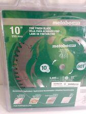 "Hitachi/Metabo 115435 10"" 60T Fine Finish VPR Blade"