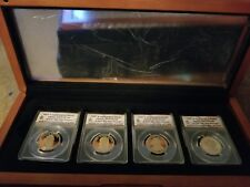 2010 S Presidential Dollar Proof Set - ANACS PR70 DCAM - 4 Coins in Display Box