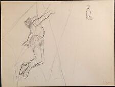 Edgar Degas Gravure of Original Sketch 1877 French, Fine Quality Vintage No. 9