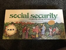 Vintage 1976 Social Security Board Game a34 1b8z