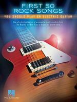 First 50 Rock Songs You Should Play On Electric Guitar by Various, NEW Book, FRE