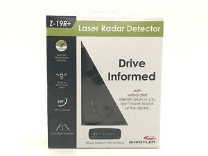 *BRAND NEW* Whistler Z-19R+ High Performance Bilingual Radar Laser Detector