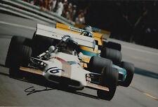 Howden Ganley Hand Signed 12x8 Photo Yardley Brm F1.