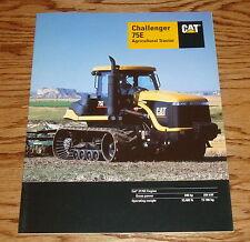 1997 Caterpillar Challenger 75E Agricultural Tractor Sales Brochure 97 Cat