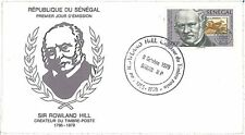 SENEGAL -  POSTAL HISTORY - FDC COVER 1979 : Sir Rowland Hill