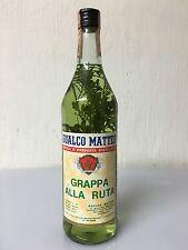 Gualco Matteo Grappa Alla Ruta Silvano D'orba Piemonte 1 Litro 45% Vintage