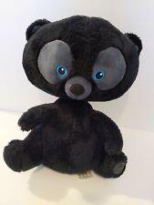 "Disney Store BRAVE 13"" Plush Black Bear Triplet HAMISH HARRIS HUBERT"