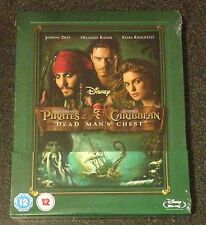 DEAD MAN'S CHEST Blu-Ray SteelBook POTC Zavvi UK Exclusive Pirates Caribbean OOP