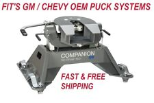 B&W HITCHES RVK3700 Companion OEM 5th Wheel RV Hitch For GM Truck w/ Puck System