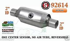 "Eastern Universal Catalytic Converter ECO III Catalyst 2"" Pipe 10"" Body 92614"
