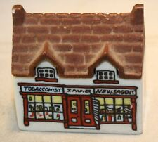 Wade Whimsey-On-Why Set 3 #4 Miniature Tobacconist Newspaper Building