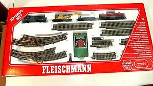 Fleischmann - Bauzug Set Nr. 836300 - in Spur H0