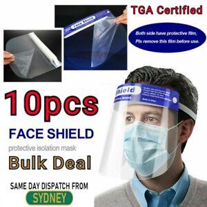 10x Full Clear Face Shield Dental Visor Shield Protective Film Eye Mouth Shield