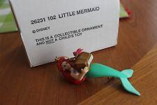DISNEY GROLIER LITTLE MERMAID ORNAMENT #26231 102 - EUC