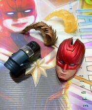 Hot Toys MMS522 Captain Marvel - Brie Larson 1/6 LED Mask / Helmet Head