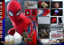"Hot Toys QS014 1/4 ""Spider-Man: Heroes Return"" Spider-Man Figure Toys Collection"