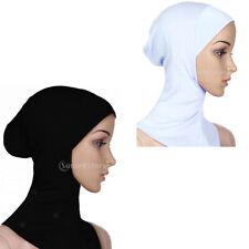 Le donne Donna Sotto Sciarpa Hijab TUBO COFANO OSSO cappuccio molti colori ESTENSIBILE NUOVO