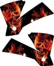 KTM Skull Flame Shroud Graphics Kit 125 250 450 520 525 01-04 sticker SX MXC EXC
