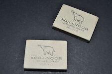 Goma borrar 2 unidades Elephant Koh-i-noor original RDA