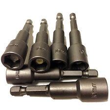 10mm TEK SCREW MAGNETIC DRIVE BIT - 10mm HEXAGONAL SOCKET DRIVER