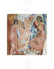"""PICASSO PABLO - LES DEMOISELLES D'AVIGNON - Artwork Reproduction 14"""" x 11"""" (591)"""