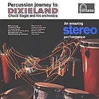 CHUCK SAGLE Percussion journey to Dixieland FR Press LP