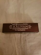 MAC~AALIYAH Collection~STREET THING~Soft Black Frost Lipstick LOW World Ship!