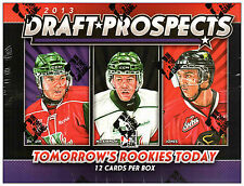 2012-13 ITG DRAFT PROSPECTS HOCKEY Hobby Box
