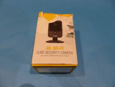 Qsee Qcw4k1mcb Wifi Security Camera 4k Wifi Cube Withheat Sensing Motion
