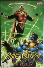 THANOS Infinity Abyss by Jim Starlin (2013) Marvel Comics TPB FINE 1st