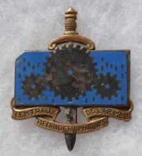 Insigne CENTRAUX MÉCANOGRAPHIQUES de l'ARMEE CMA Matériel ORIGINAL Drago H 591