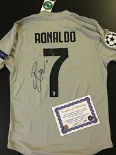 Juventus Ronaldo CR7 Autografata Signed Jersey Maillot Camiseta shirt ジャージー 球衣