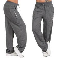 US Women Casual Loose Cotton Sweatpants Sports Harem Trousers Yoga Jogger Pant