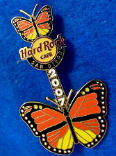 SAN DIEGO USA 2007 MONARCH BUTTERFLY INSECT WINGS GUITAR Hard Rock Cafe PIN LE