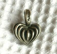 Lagos Caviar Heart Pendant   Sterling SilvLagos Caviar Heart Peer  0.75″ x 0.5″