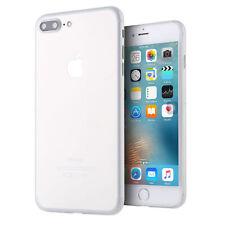 Apple iPhone 7 / 8 Plus + (5,5) ultra dünne Schutzhülle / Hülle / Case - Weiß