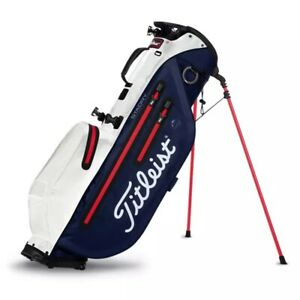 NEW TITLEIST 2021 PLAYER 4 STA DRY STAND BAG MODEL# TB21SX2-416 NAVY/WHITE/RED