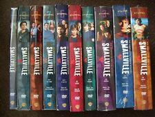 Smallville Staffel 1 - 10  zum Teil noch OVP