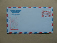 SWITZERLAND, ill. prestamped aerogramme 1985, mint, LUPO 85, airmail expo