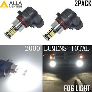 Alla Lighting 30-LED 9006 Fog Light Driving Light Bulb Bright White Replacement