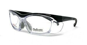 OnGuard Safety RxAble Eyewear OG-220S Black Clear Goggles Large 58mm Small 55mm