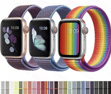 Nylon Woven Sport Loop Band Strap For Apple Watch iWatch Series 4/3/2/1 38/40MM