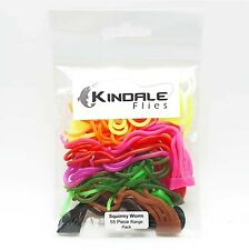 Squirmy Worm Range Pack - 55 Piece - Fly Tying Material - San Juan Body