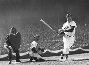 "Ted Williams - 8"" x 10"" Photo - 1947 - Fenway Park - Boston Red Sox Baseball"
